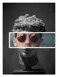 Abstrast Sunglasses Statue