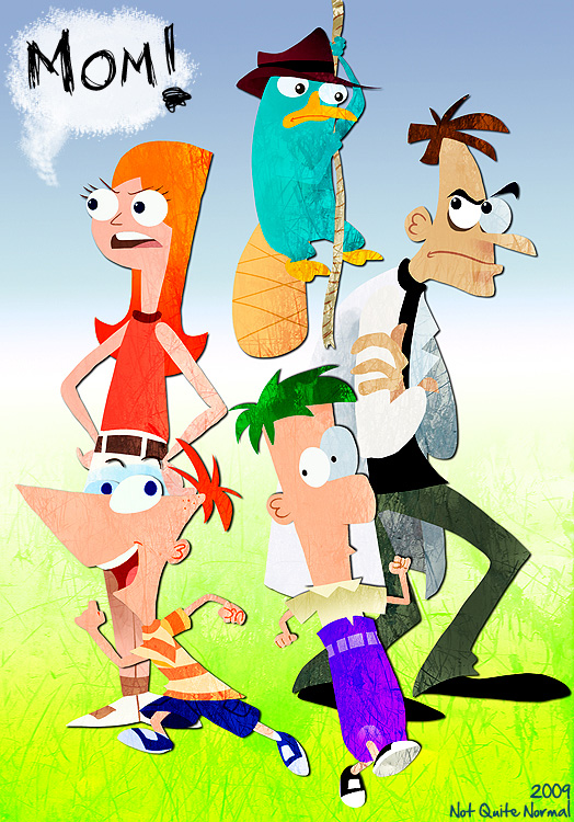Phineas and Ferb by Not-Quite-Normal
