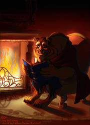 Reading A Tale As Old As Time by cgratzlaff