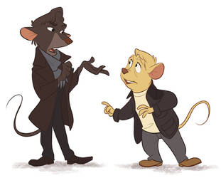 The Great Mouse Sherlock by Not-Quite-Normal