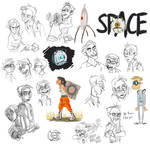 Portal 2 Doodles