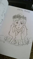 Avatar Korra with a Floral Crown