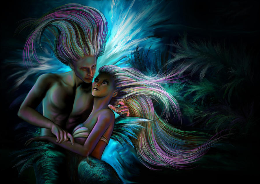 underwater love by amanda38