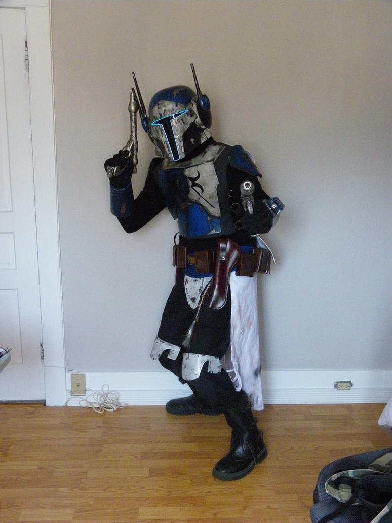 Mandalorian Mercenary, Aden Banto#1 by TheCabinetmaker