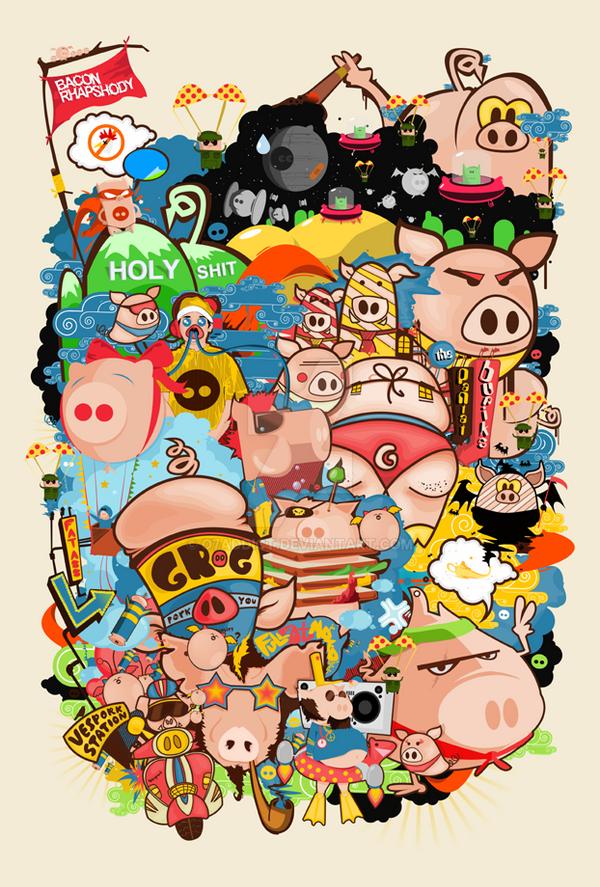 Bacon Rhapsody by o7addict