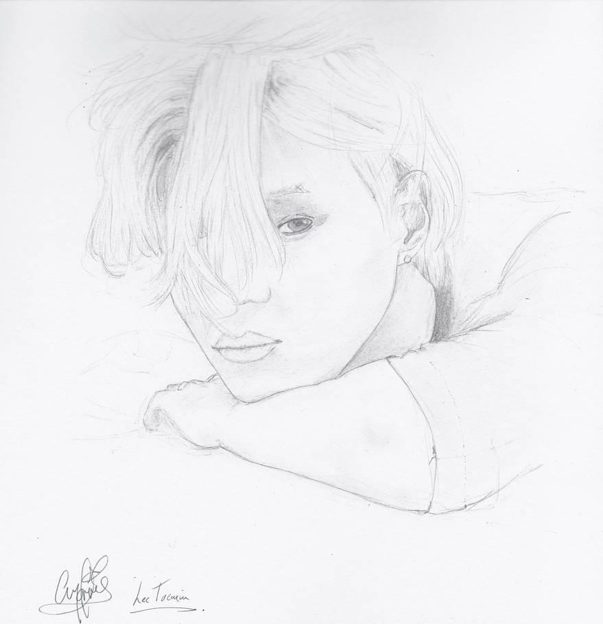 Taemin Ace Fan Art 2 by chrly on DeviantArt