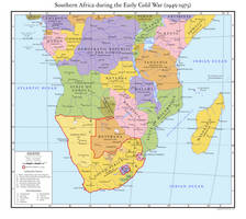 Southern Africa during the Early Cold War by ReagentAH