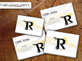 Business card. by RapsterMC