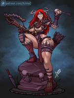 Huntress ... the big one )