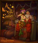 Happy new year everyone! by NaughtyAzima