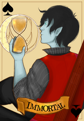 Marshall Lee - 'Immortal' by lucastea