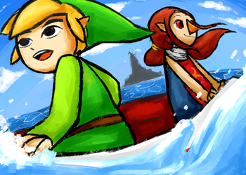 The Legend of Zelda: Wind Waker by lucastea