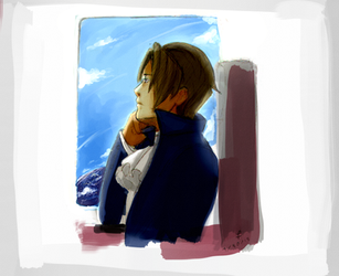 Edgeworth's Return by lucastea