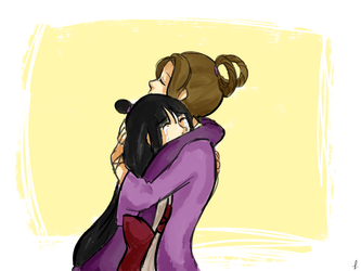Sister's hugs by lucastea