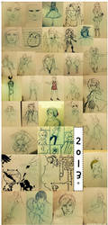 2013 Art Summary by lucastea