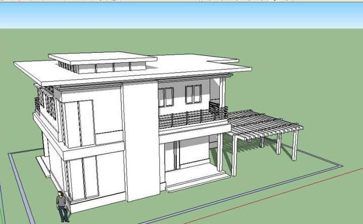 House In Sketchup Wip 1 By Karlowee On Deviantart