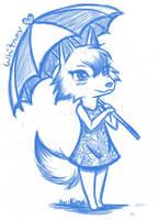Whitney (aka Bianca) drawn by Kimai by Kimai