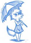 Whitney (aka Bianca) drawn by Kimai