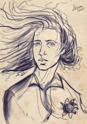 Roland sketche II by Laratff