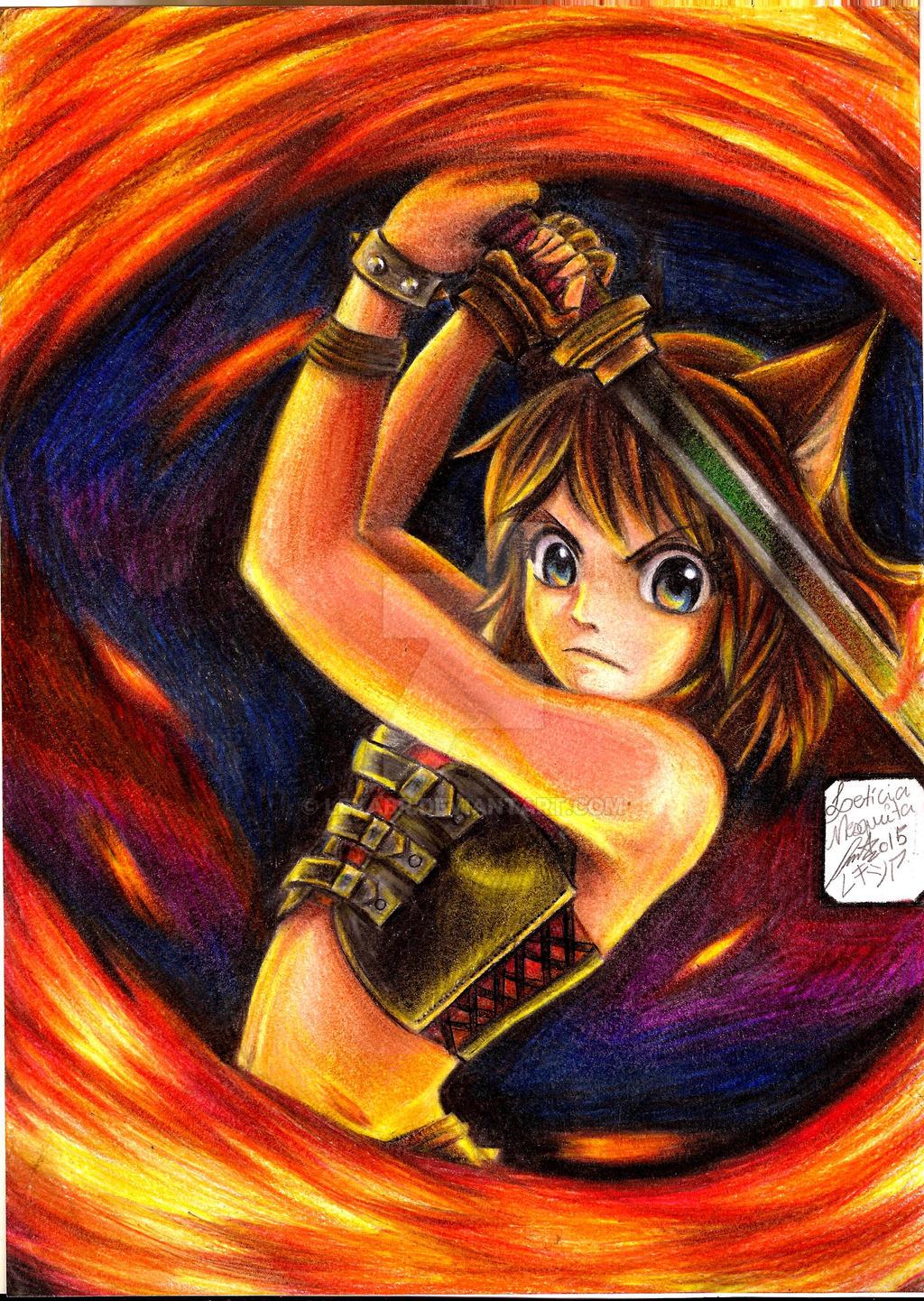 oc__lolo_kitsune___fire_spin_by_lekabr-d