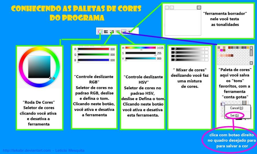 Tutorial - Paleta de cores SAI by lekabr