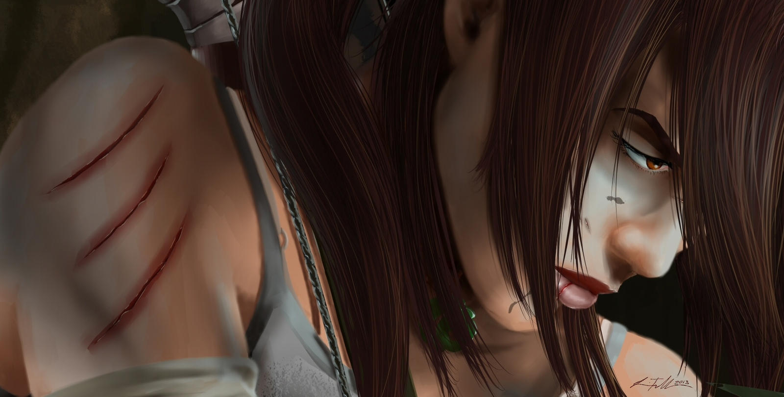 Lara close up by Bostonology