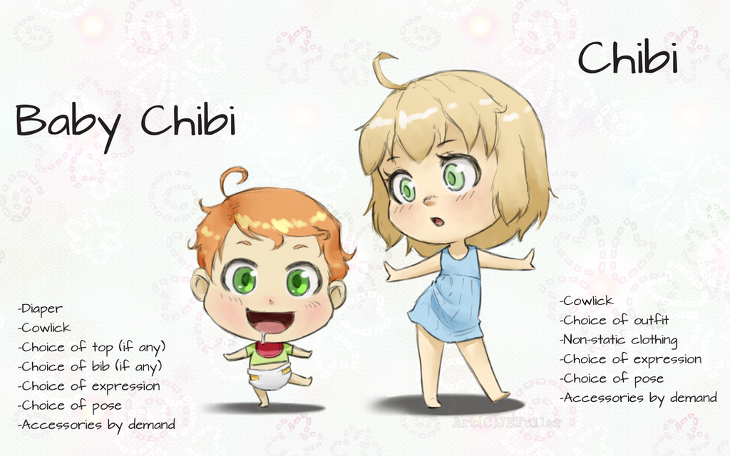 Chibi Examples by Bostonology