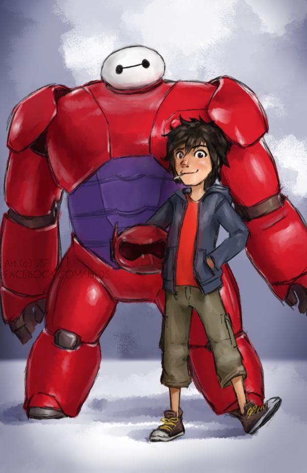 BIG HERO 6 SPEEDPAINT by Bostonology