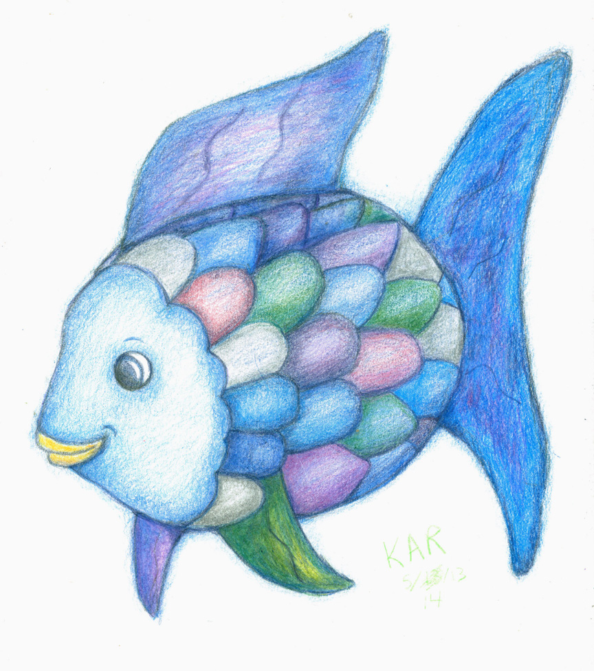 Rainbow fish by kalmasis on deviantart for The rainbow fish