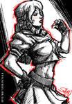 45 mins sketches - Karin