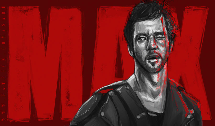 45 mins sketches - Mad Max