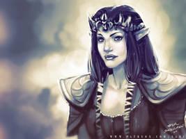 45 mins sketches - Zelda by SabuDN