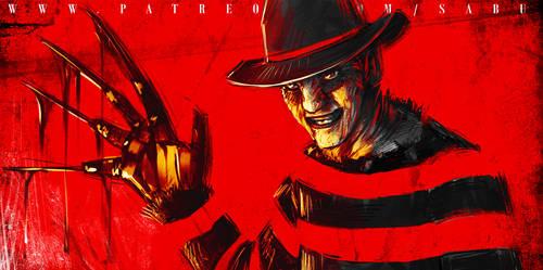 45 mins sketches - Freddy