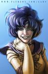 45 mins sketches - Sailor Mercury
