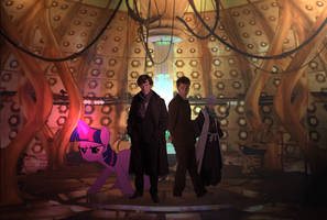 Crossover in the TARDIS by ssumppg
