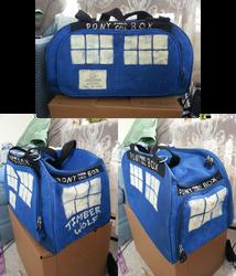 Doctor Whooves TARDIS Bag