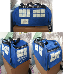 Doctor Whooves TARDIS Bag