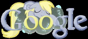 Derpy Hooves/Ditsy Doo Google Logo