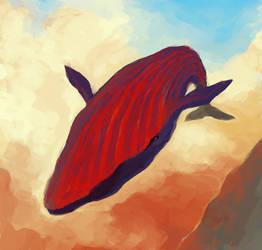 Sky Whale by MehulSahai