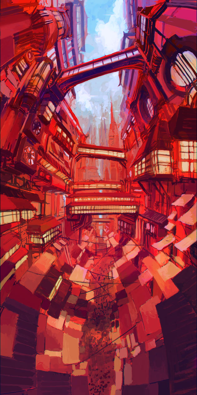 Red City by MehulSahai