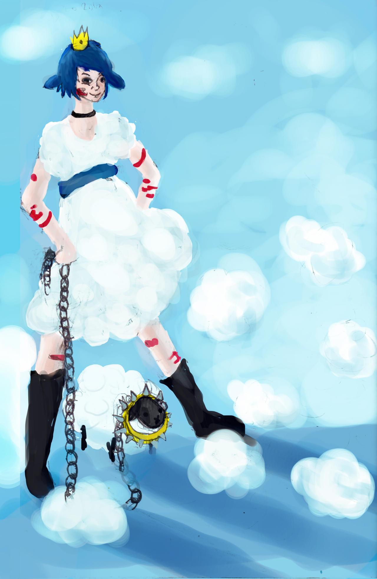 Princess Baa and Sheepbeast by SoothSheeper