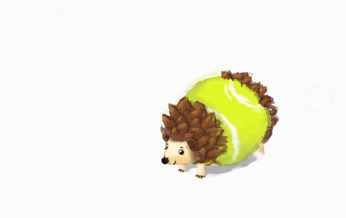 Hedgehog by SoothSheeper