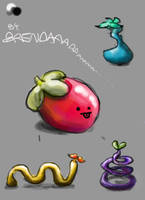 Silly Fruit by SoothSheeper