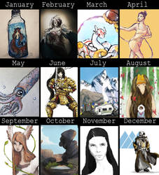 Art Summary 2014 by SoothSheeper
