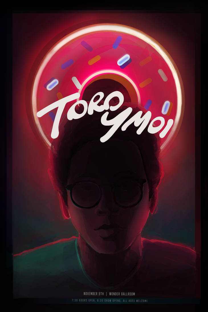 Toro Y Moi Gig Poster by SoothSheeper