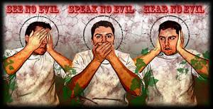 see speak hear no devil