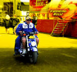 Valentino Rossi Le Mans 2008