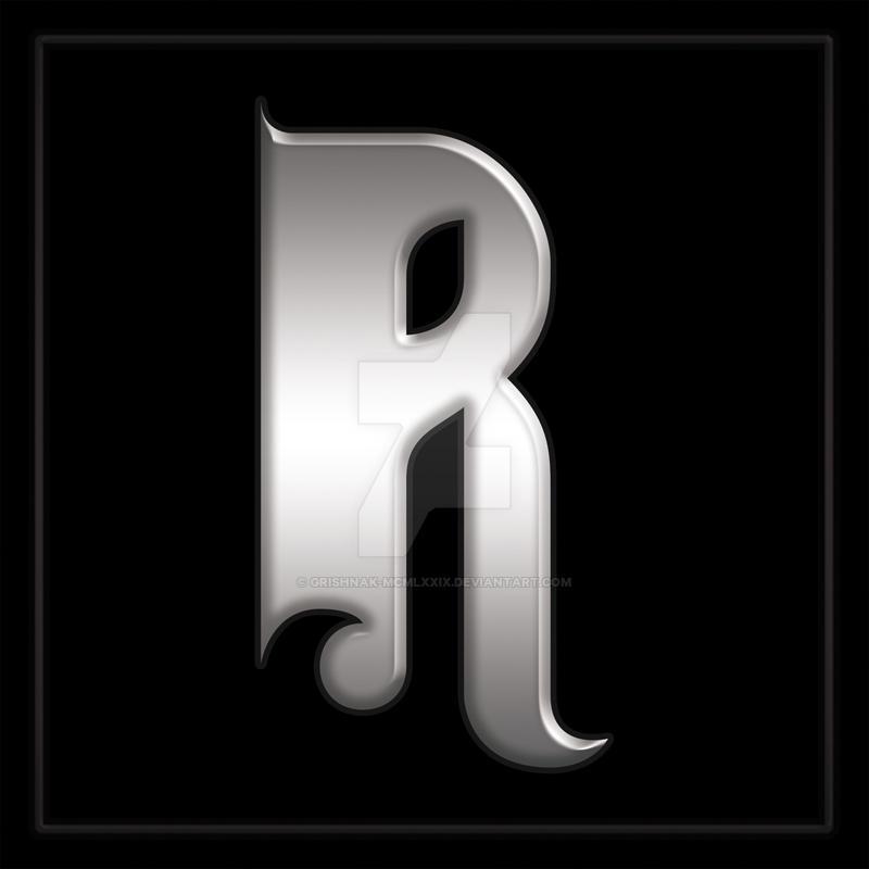 Digital monogram JR RJ Wedding Monogram