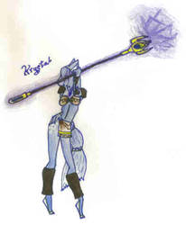 Comic Krystal by neomeneomine