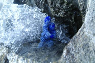 Blue Figurine by naturegirlrocks